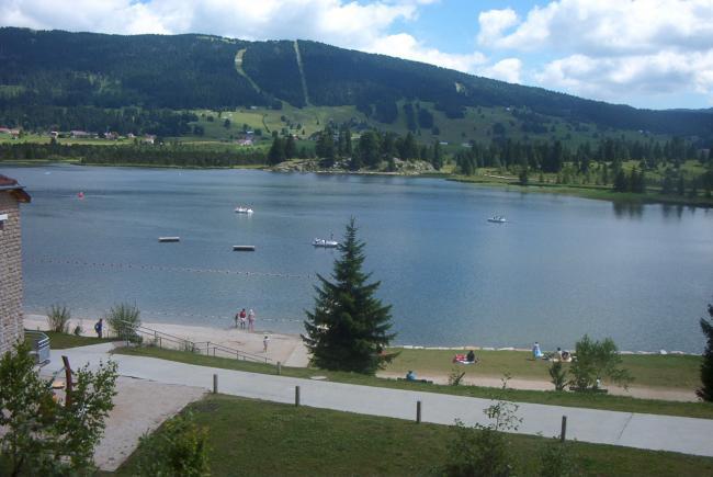 Plage lac des Rousses Location Appartement Bois d'Amont # Location Bois D Amont